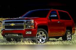 2017 Chevrolet Blazer K5 Review Price And Release Date