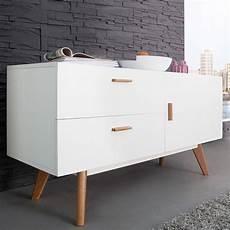 Kommode Skandinavisches Design - retro design sideboard kommode g 214 teborg weiss eiche