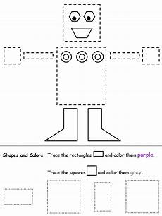 shapes worksheets practice 1229 rectangles and squares