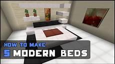 Minecraft Schlafzimmer Modern - minecraft tutorial how to make 5 modern beds