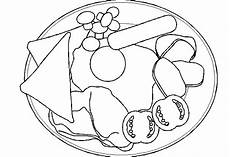 Breakfast Coloring Pages Printable Free Photos