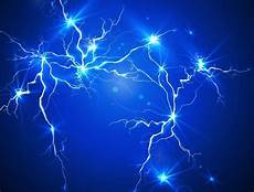 free blue lightning background vector 01 titanui