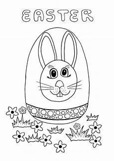 Easter Egg Hunt Coloring Sheets Easter Egg Hunt Coloring Page Thriftyfun