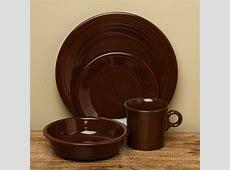 Fiesta 'Chocolate' 16 piece Dinnerware Set   Overstock