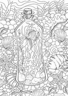 underwater printable coloring page from favoreads
