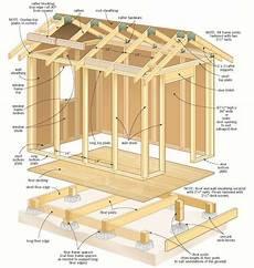 plan cabanon de jardin plan gratuit pour construire un cabanon in 2019 wood