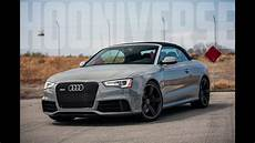 Audi Rs5 Cabrio - audi rs5 cabriolet feel the wind in your hair and your