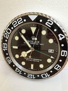 rolex wall clock gmt master ii catawiki