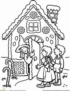 fairytale themed coloring pages 14942 color the hansel and gretel with images coloring pages tales tales unit