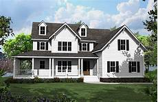 country house plans with porches 4 bed country house plan with l shaped porch 500008vv