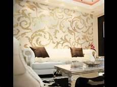 Moderne Tapete Wohnzimmer - modern wallpaper design ideas for living room