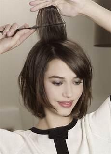 kinnlange haare stylen
