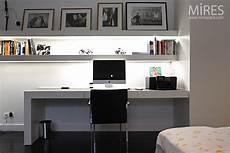 chambre bureau en noir et blanc c0750 mires