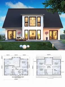 haus bauen ideen einfamilienhaus neubau modern mit satteldach architektur zwerchgiebel galerie haus bauen