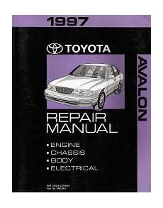 small engine maintenance and repair 1997 toyota avalon free book repair manuals 1997 toyota avalon factory service manual