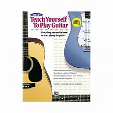 teach me how to play guitar sheet song books alfred alfred quot s teach yourself to play guitar was listed for r420 00