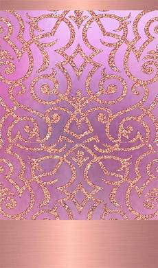Gold Pink Wallpaper Iphone