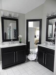 master bath vanity using kitchen cabinet bases contemporary bathroom other