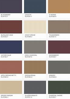 dulux feste farbe farbpalette dulux 2018 colour decor trends