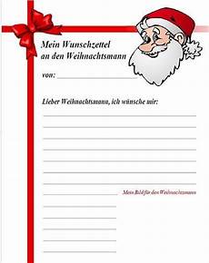 wunschzettel an das christkind den weihnachtsmann ausdrucken