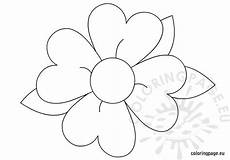 flower coloring page for coloring page