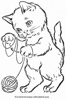 color by number cat coloring pages 18089 the three kittens coloring books vintage 1 kittens and the o jays