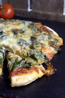 rezept frischer spinat spinat pizza aus dem thermomix 174 mein zaubertopf