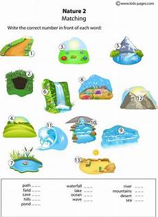 nature and animals worksheets 15101 pin on vocabulary