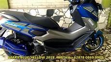 Modifikasi Yamaha Nmax 2018 by Modifikasi Yamaha Nmax Design By Iejimo Motor Blue 2018