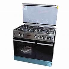 cuisinière gaz bouteille newtec cuisini 232 re 90 x 60 5 feux four a gaz avec cache