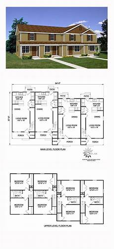 multiplex house plans 4 level multiplex row home cad designs modern house