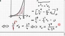 02b 7 schwerpunkt der fl 228 che unter parabel integral