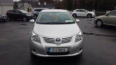 toyota avensis 2010 used toyota avensis 2010 diesel 2 0 silver for sale in galway