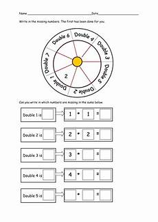 differentiated worksheets for doubling by ruthbentham teaching resources