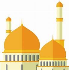 17 Gambar Masjid Mosque Kartun Vector Png Keren