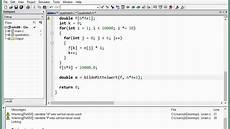 06d 2 funktion die den mittelwert eines arrays bestimmt