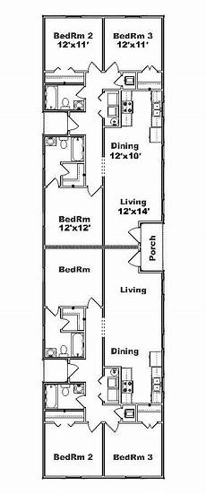 narrow lot duplex house plans narrow duplex plans google search duplex plans