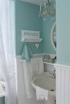 Aqua Color Bathroom Ideas by Aiken House Gardens Vintage Style Guest Bath