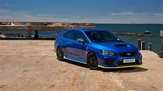 2019 subaru wrx sti edition revealed it s