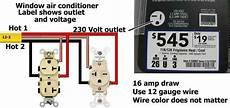 220 volt air conditioner wiring diagram window air conditioner outlet electric window air conditioner and outlets