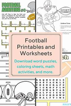 sports worksheets for middle school 15728 these free football themed printables and worksheets that are for preschooler