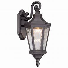 minka hanford pointe rubbed bronze led outdoor wall light 71821 143 l destination lighting