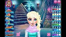 frozen game disney elsa real haircut up makeover fun to play free online youtube