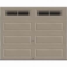 9 7 Garage Doors by Ideal Door 174 Traditional Sandtone Insulated Garage Door