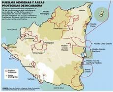 ubicacion de los simbolos naturales en el mapa de venezuela pueblos ind 237 genas y 225 reas protegidas de nicaragua el nuevo diario