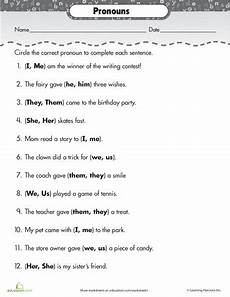 subject and object pronouns pronoun worksheets pronoun activities object pronouns