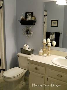 Homey Home Design In The Bathroom