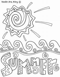 summer coloring pages printables classroom doodles
