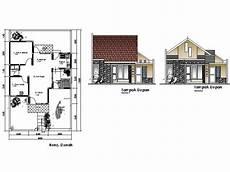Gambar Rumah Sederhana Dan Denahnya