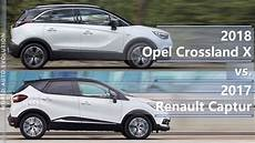 crossland x dimensions 2018 opel crossland x vs 2017 renault captur technical